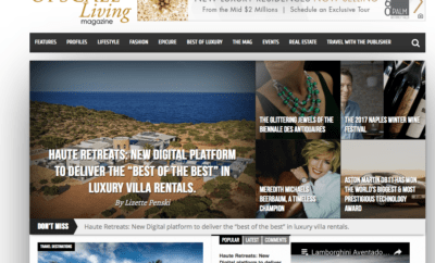 Haute Retreats on Upscale Living Magazine