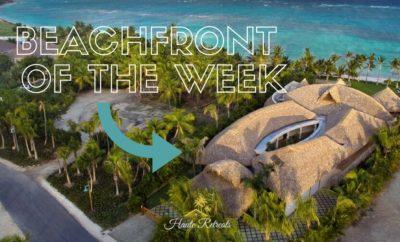 Beachfront of the Week!! Punta Cana Luxury Villa Rental Sirena Blue