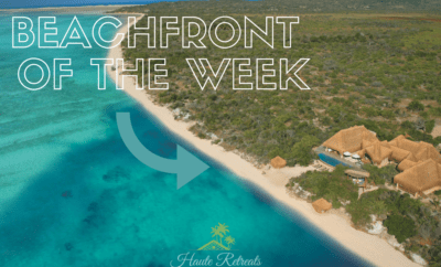 The Beachfront Villa Rental of the Week located in Mozambique
