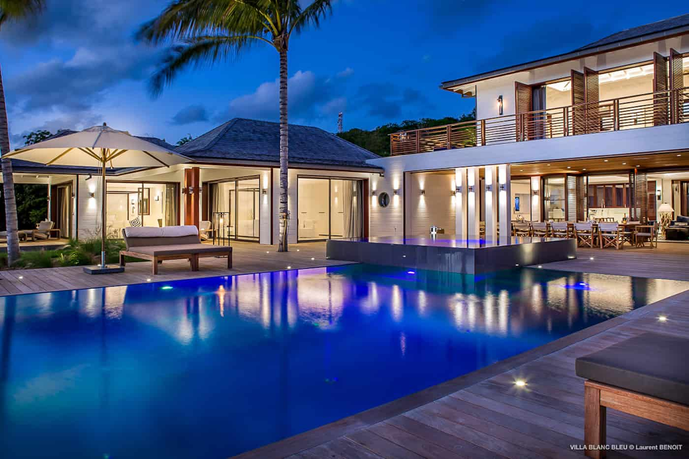 Villa Blanc Bleu St Barts Villas And Luxury Villa Rentals