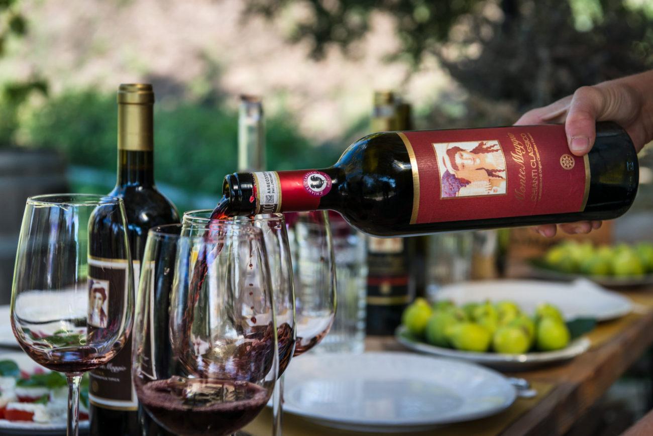 Wine Tasting Chianti region