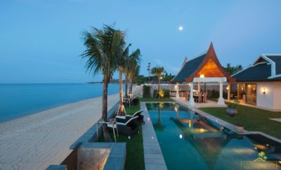 The Luxury Beachfront Home of the Week: Villa Wayu, Koh Samui