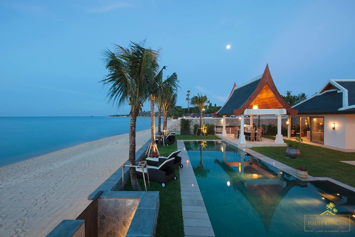 The Luxury Beachfront Home of the Week: Villa Wayu, Koh Samui