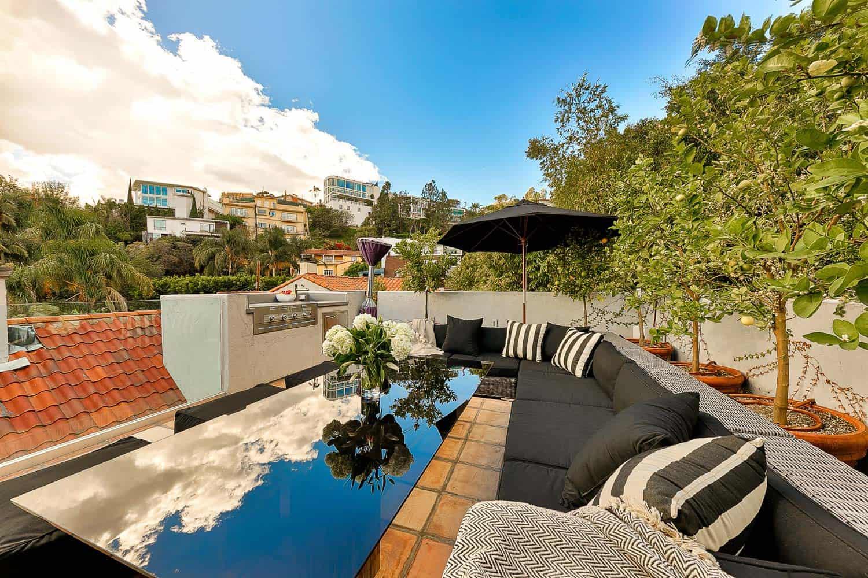 Villa Chaplin Luxury Home In Los Angeles Haute Retreats