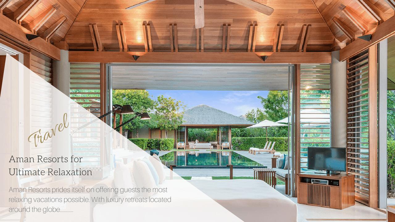 Man Resorts | Haute Retreats