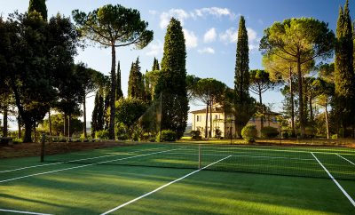 5 Tuscany Villas for Rent with Tennis Court