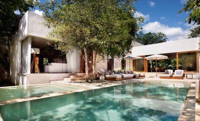 Villa of the Week: Inside the Chablé Resort Presidential Villa