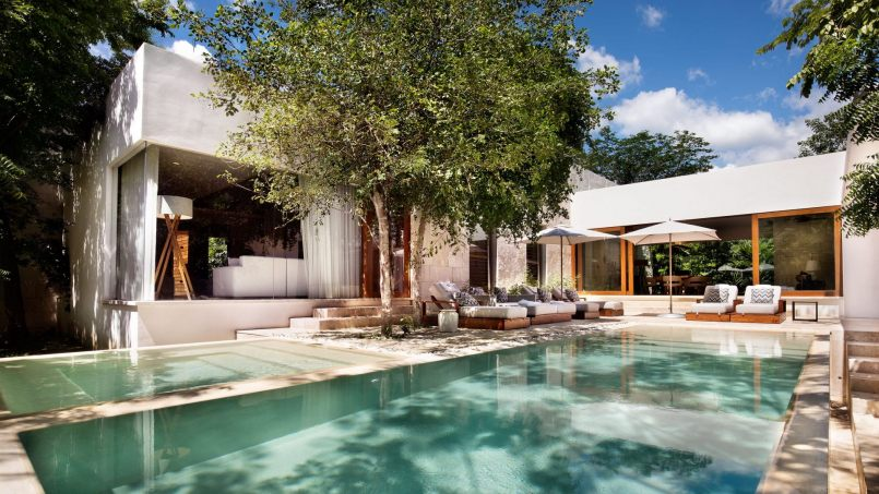 Villa of the Week: Inside the Chablé Resort Presidential Villa