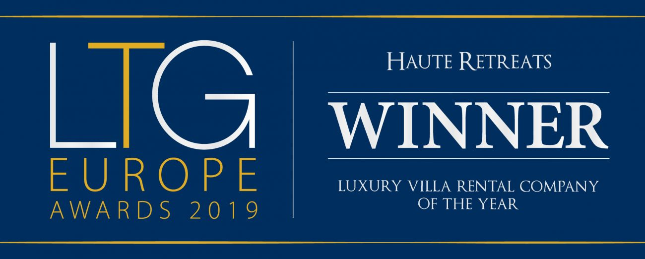 LTG Europe Awards 2019 Luxury Villa Rental Company of the Year