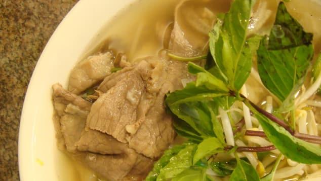 Pho Vietnamese food