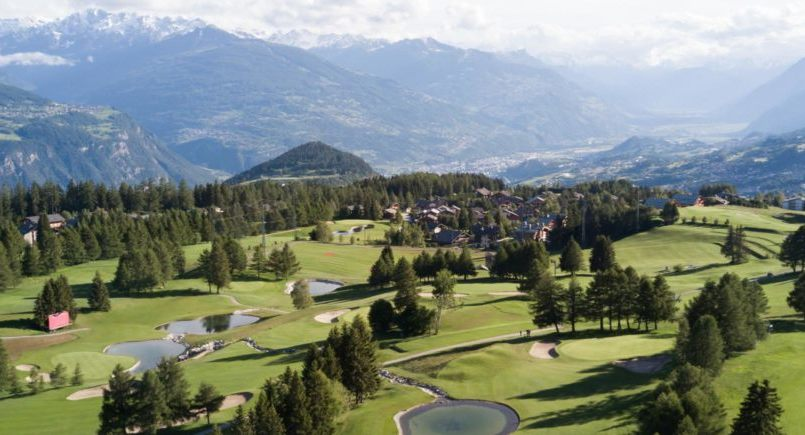 Top 5 golfing destinations in the Alps