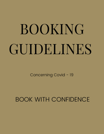 BOOKING GUIDELINES