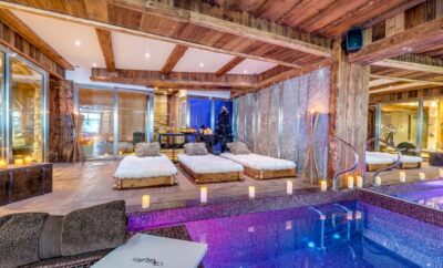 6 Luxury Chalets with Exceptional Wellness Areas