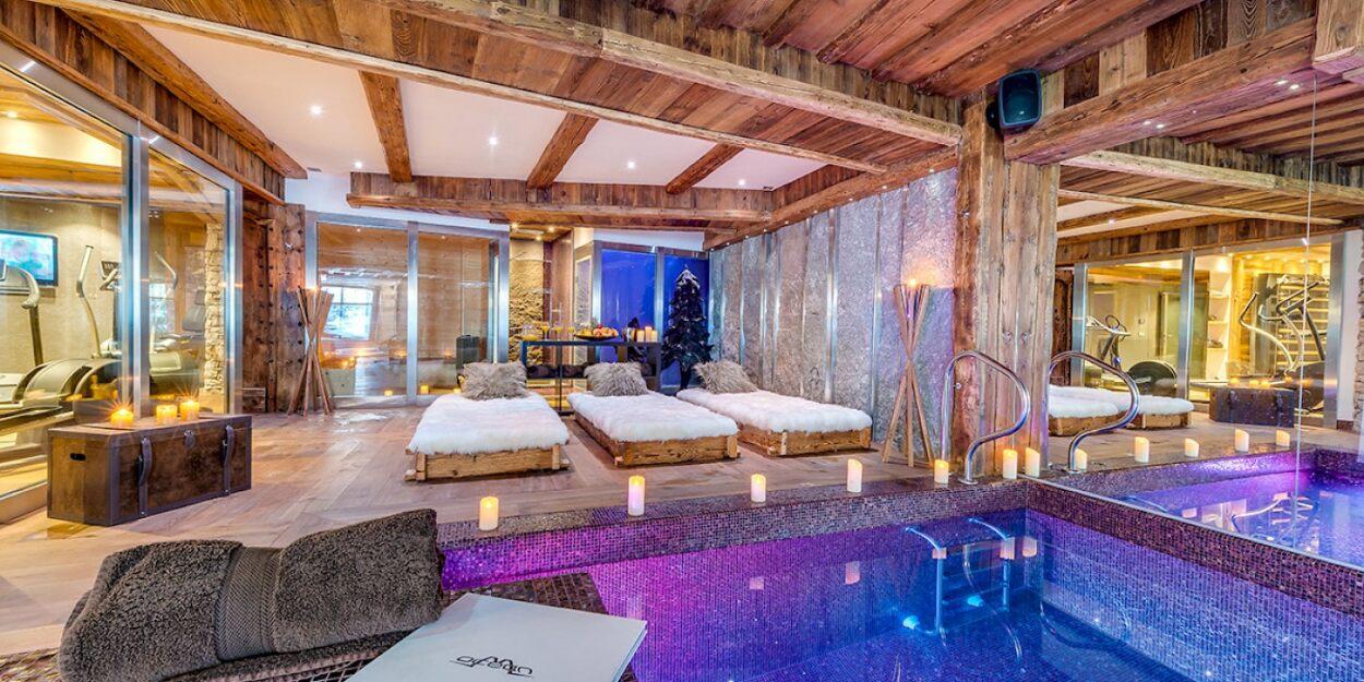 Ultimate Wellness Areas | Luxury Chalets