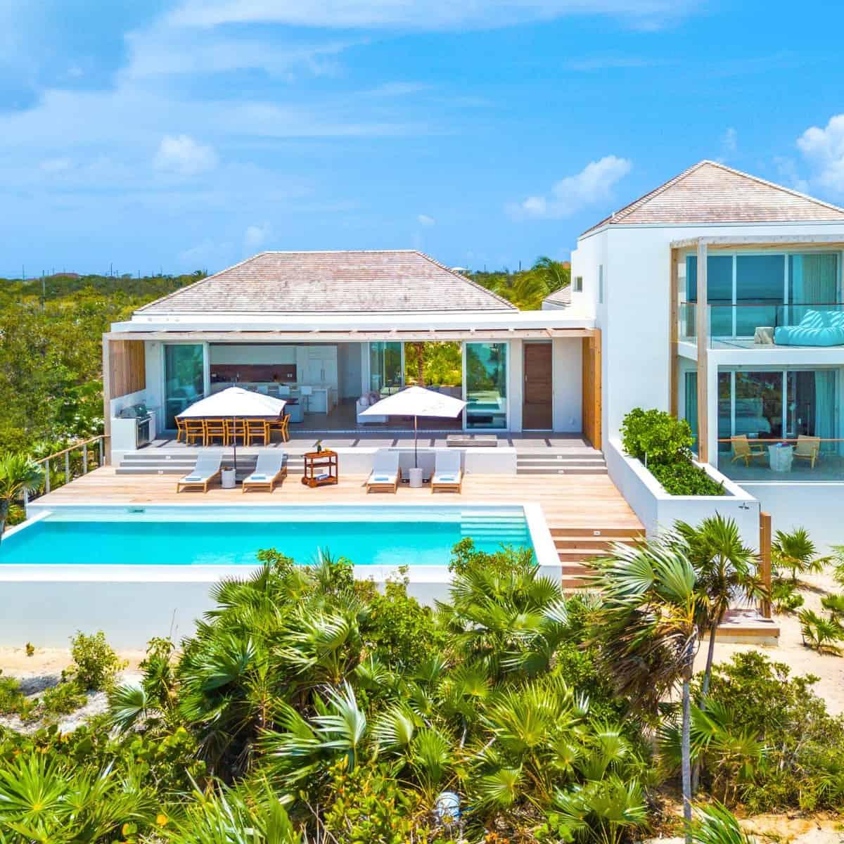 Beach Enclave Long Bay Villa 2 - 5 BR | Turks and Caicos Villas