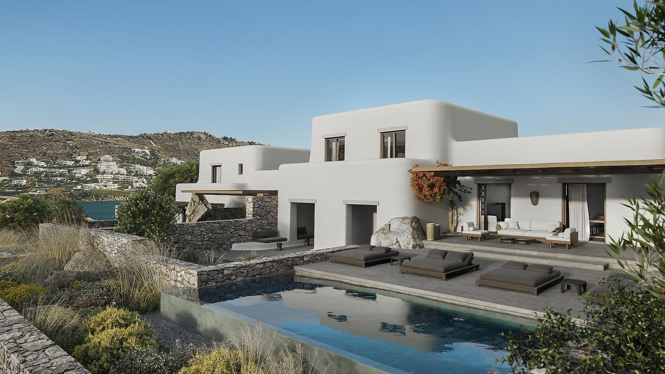 Villa Apollon - Kalesma | Villas in Mykonos | Haute Retreats