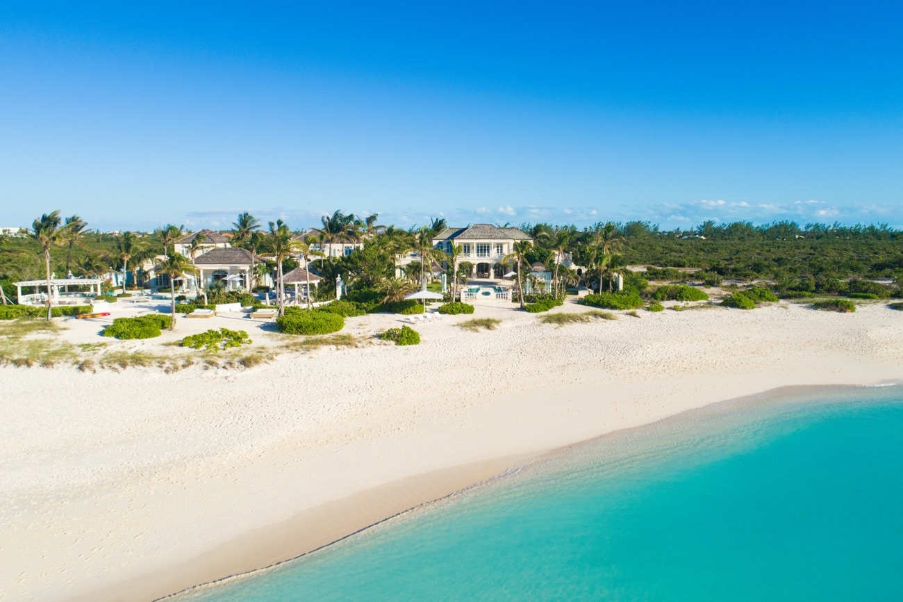 Coral Pavilion Beachfront Turks and Caicos