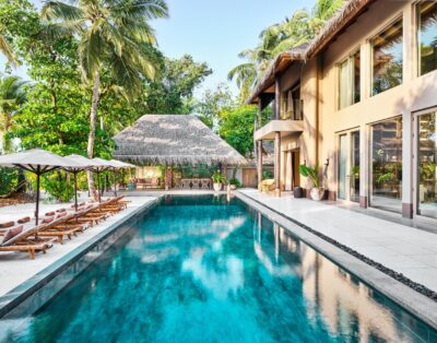 Four Bedroom Beach Residence with Pool | Joali