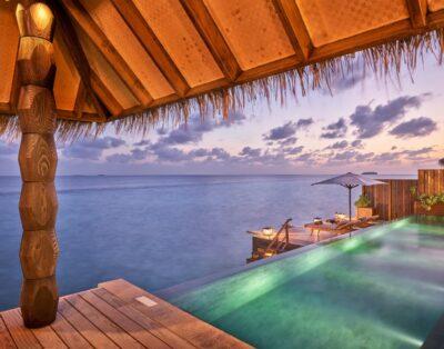 Luxury Sunset Water villa with Pool | Joali