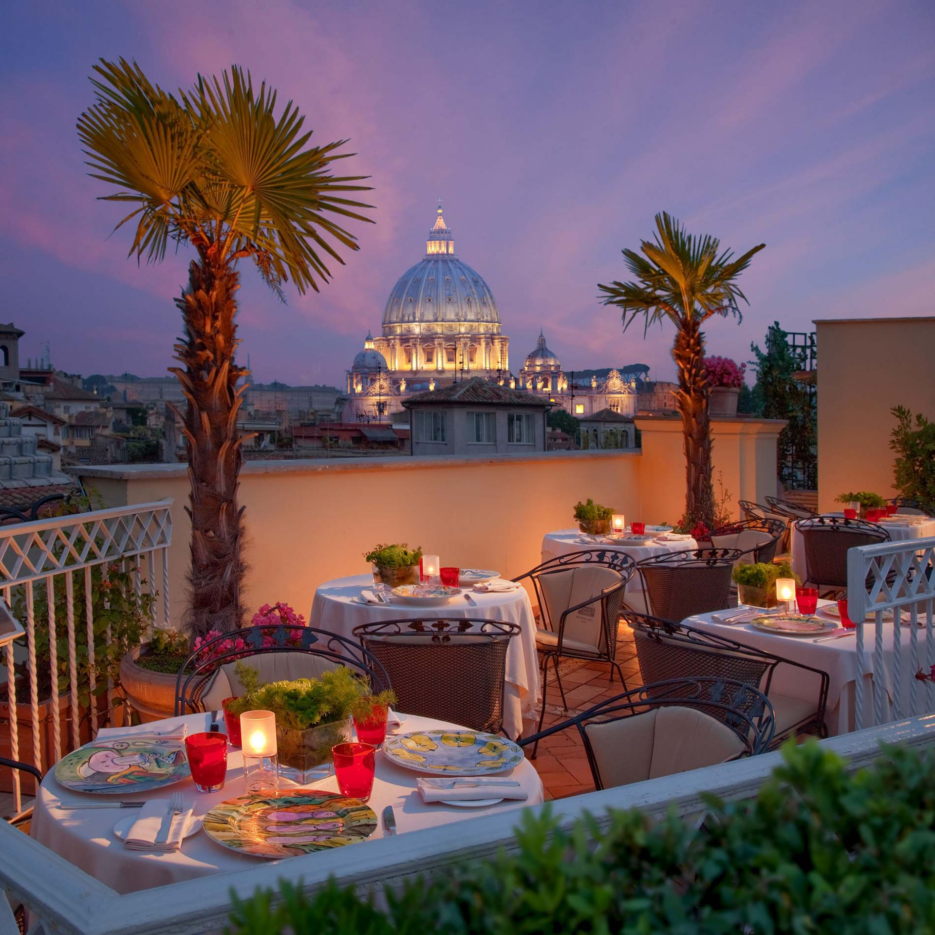 Bramante Terrace, Raphael Hotel