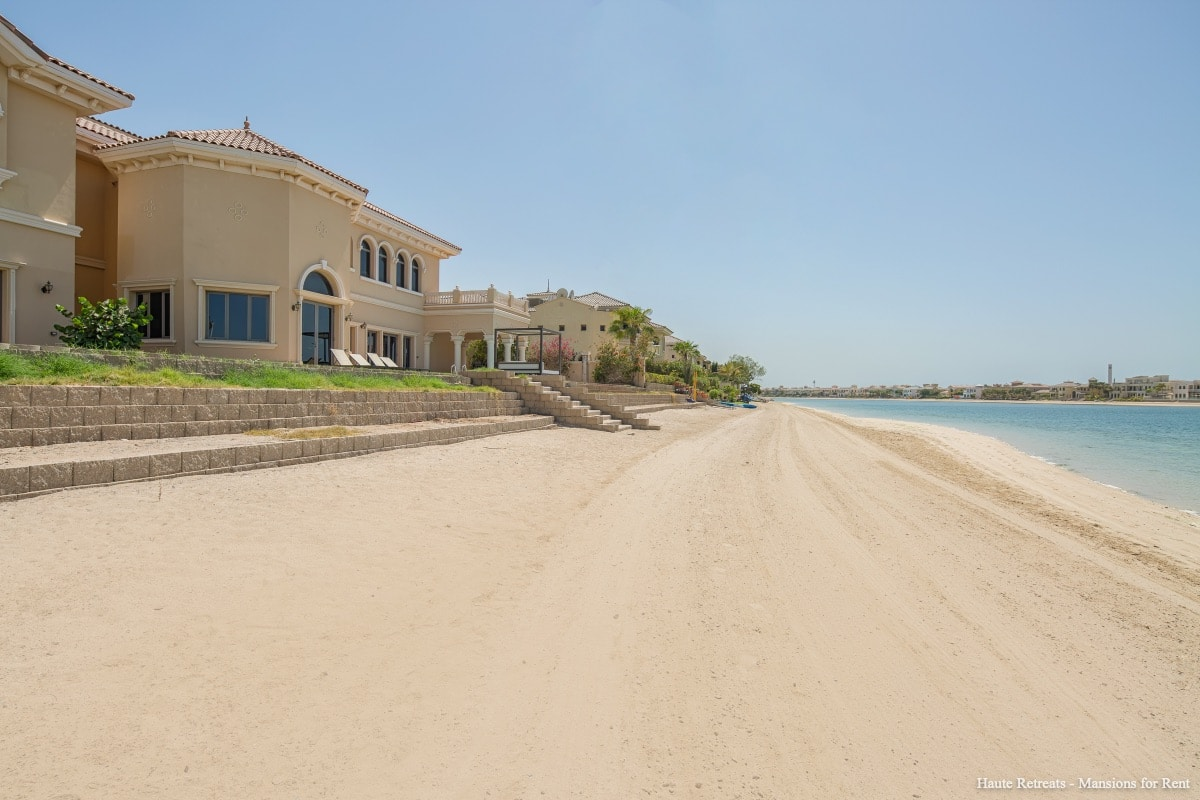 PJ Beach Front XL Villa w/Prvt Pool | 7 BR | Villas for rent in Dubai