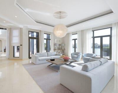 Luxury Beachfront Villa Palm Jumeirah | 6 BR