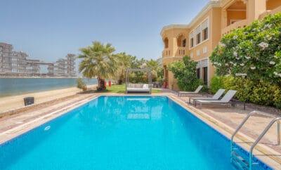 5 New Beachfront Luxury Villas on Palm Jumeirah Dubai